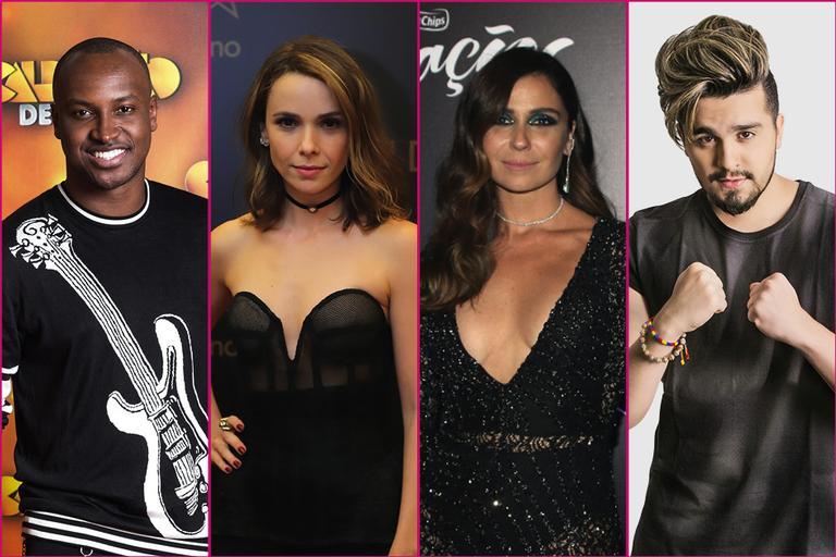 Thiaguinho, Débora Falabella, Giovanna Antonelli, Luan Santana, famosos do signo de Peixes