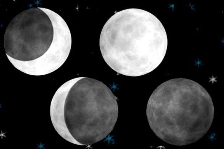 fases da lua e suas influências