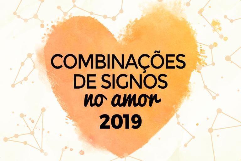 combinações de signos no amor em 2019