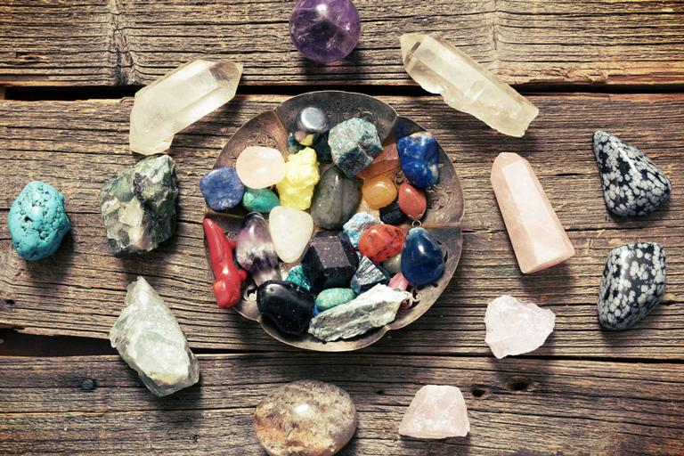 pedras dos chakras