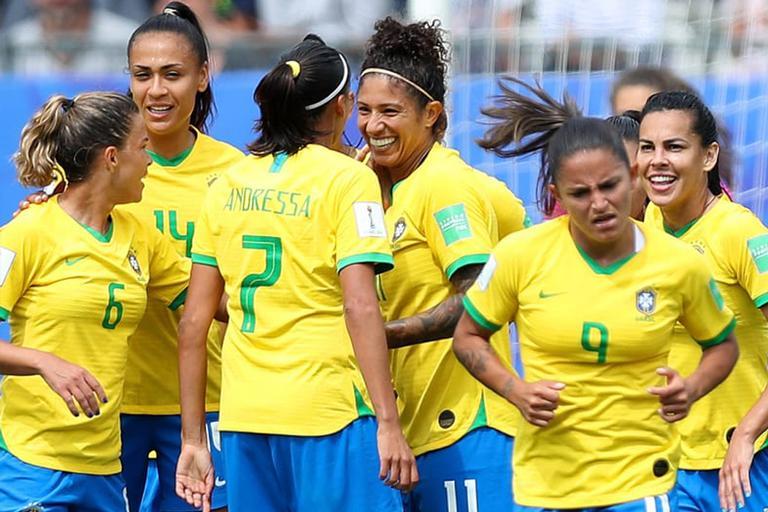 Signo das jogadoras da seleção brasileira