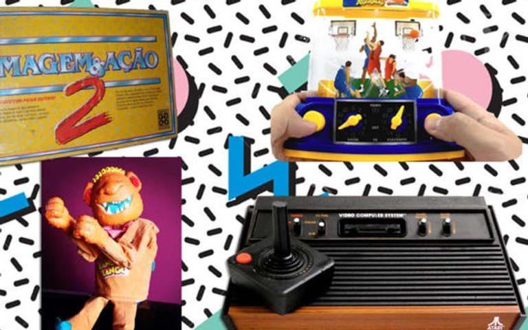 Brinquedos dos anos 80 e 90