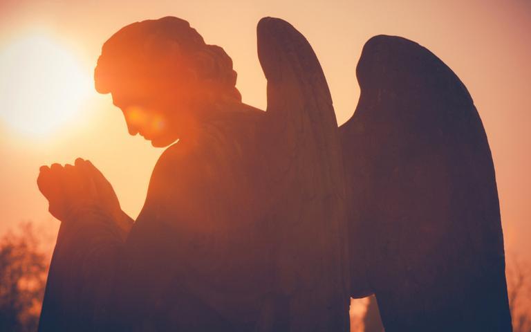O seu anjo da guarda está sempre com você