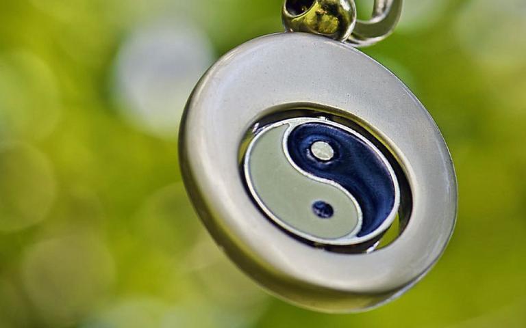 O Yin Yang representa o equilíbrio das forças opostas da natureza