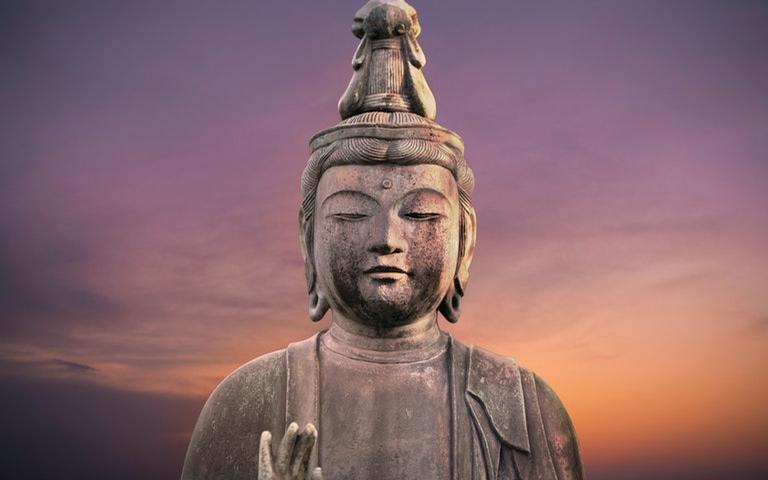 Os ensinamentos de Buda são como um remédio para os corações feridos