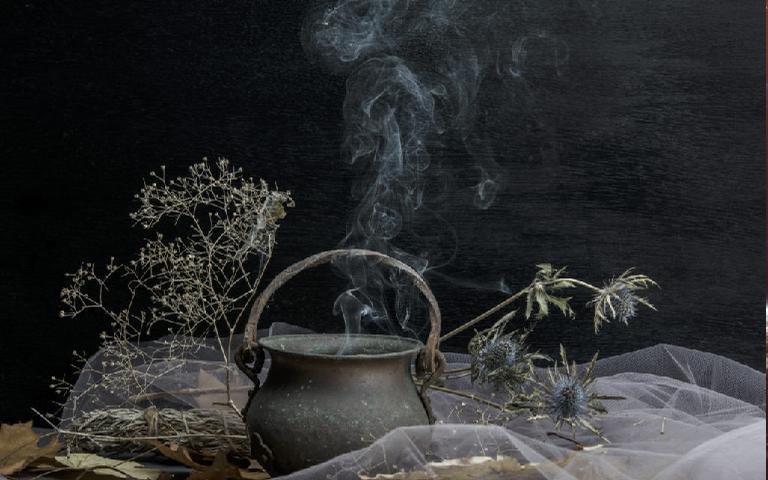 O caldeirão é um dos itens mais famosos da bruxaria