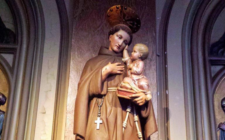 Tenha fé no poder de Santo Antônio
