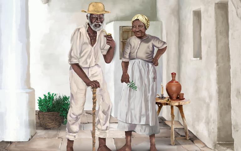 Os Pretos-Velhos são entidades poderosas da Umbanda