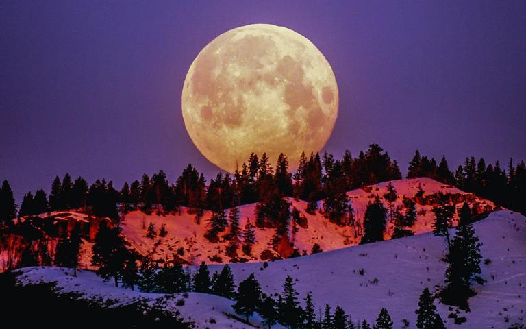 Entenda o que são as luas coloridas - Crédito: Frank Cone/Pexels