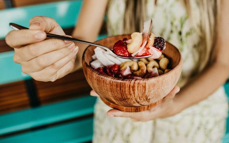 Uma boa alimentação ajuda no bem-estar do corpo e da mente