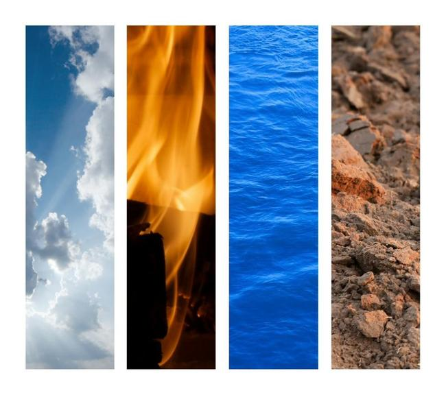 Como usar os 4 elementos ao seu favor