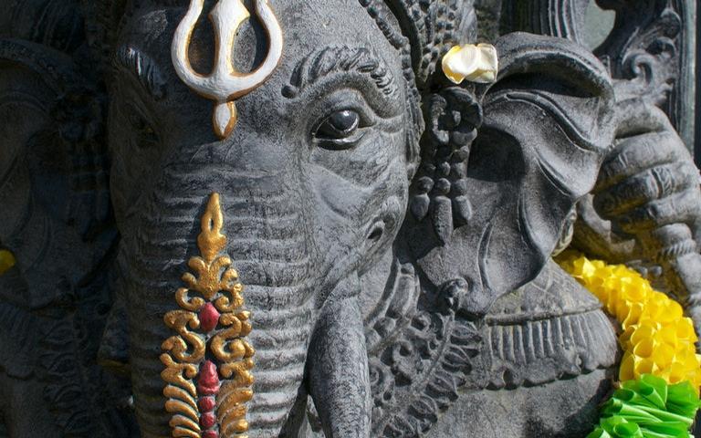 Ganesha é o deus que abre os caminhos