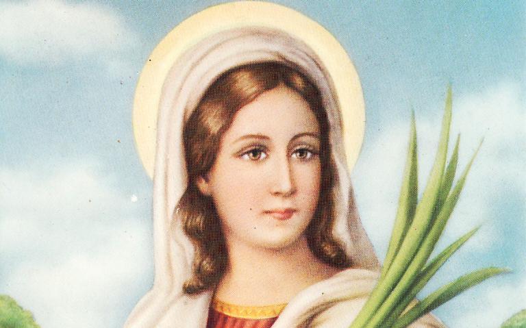 Santa Luzia é conhecida por ser a protetora dos olhos