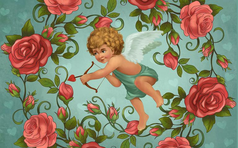 Tenha fé no poder do Cupido