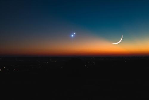Lua Crescente em Áries em harmonia com Júpiter e Saturno em Aquário