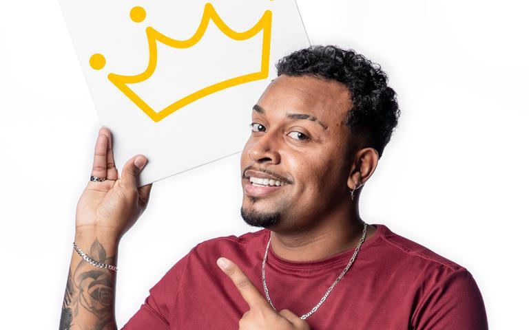 Se depender das estrelas, o finalzinho de janeiro deve ajudar o comediante gaúcho Nego Di