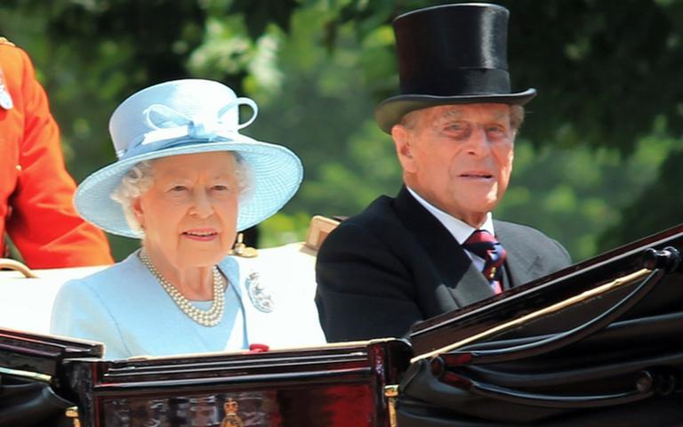Rainha Elizabeth e Philip